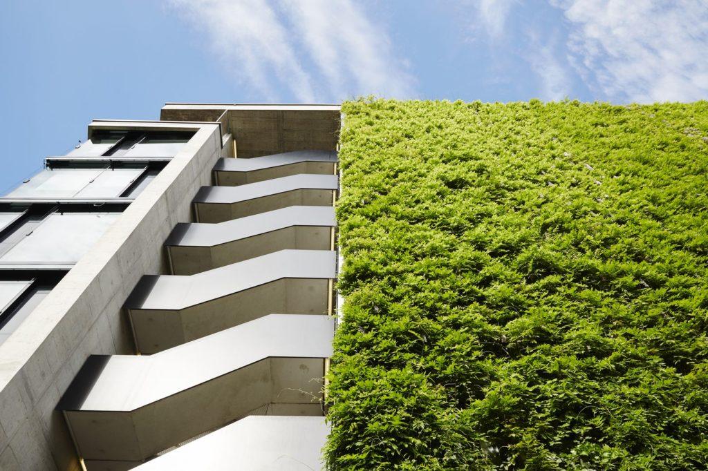 Sihl City Green Wall Exterior