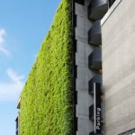 Sihl City Green Wall Exterior