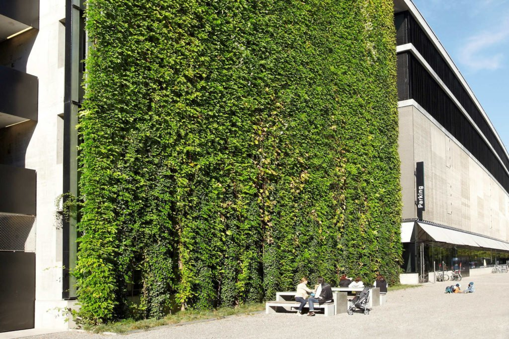 Sihl City Green Wall